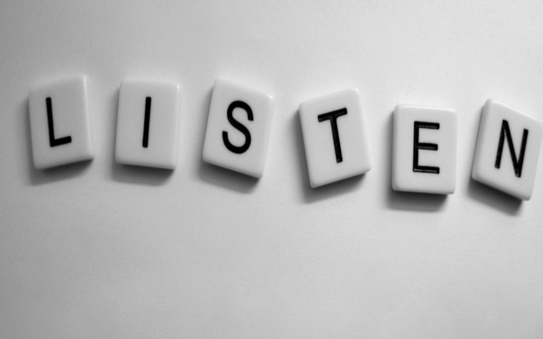 Hey listen! Are you a good listener?